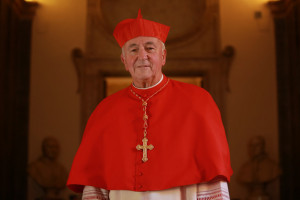 Vincent Nichols New Cardinal Vincent Nichols poses for photographs at