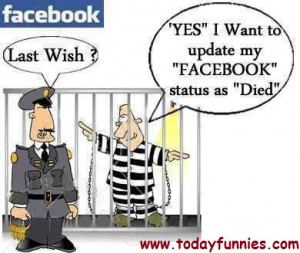 this is very funny picture of a prisoner related to facebook in this ...