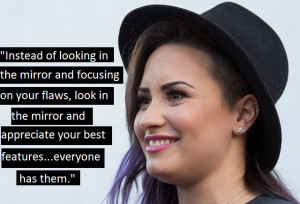 demi lovato quotes from her songs