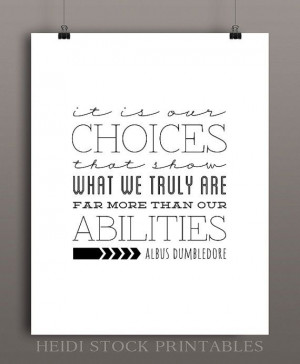 Albus Dumbledore Quote from Harry Potter and the Chamber of Secrets ...