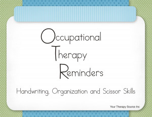 Pediatric Occupational Therapy Quotes card of Occupational Therapy