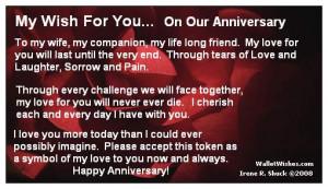 Happy Anniversary Quotes Wife