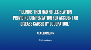 Illinois then had no legislation providing compensation for accident ...