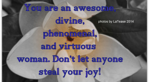 Tag Archives: phenomenal woman quotes