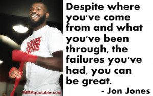 Jon Jones on believing one can become great regardless off past ...