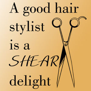 Hair Stylist Quotes And Sayings Good-hair-stylist-wall-quote-
