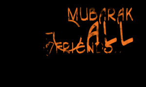 Quotes Picture: eid mubarak to all my friends