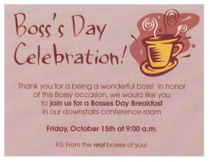 Bosses Day Quotes Card Free Boss Day Greeting Cards