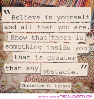 Believe In Yourself Quotes And Sayings