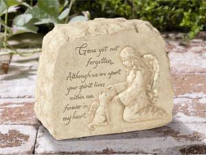 Product: (449461) Cat Memorial - Cat Memory Stone