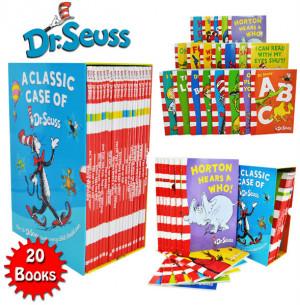 ... Seuss 20 libros caja paquete conjunto colección incluye lorax nuevo
