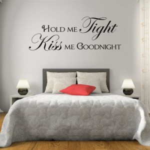 homepage > MIRRORIN > HOLD ME TIGHT QUOTE WALL STICKER
