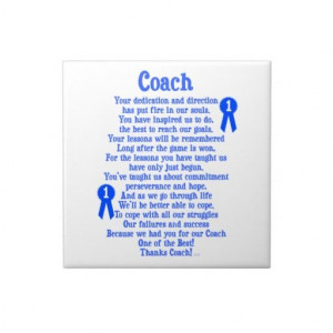 coach quotes | show your appreciation for your coach with this coach ...