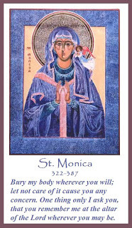 ... st monica augustine s reflection on monica s dying wish remember me at