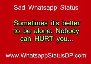 Sad Whatsapp Status & Quotes – Short Whatsapp Sad Status for Girls ...