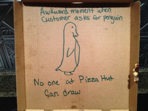 20 Funny 'Special Request' Pizza Box Drawings / SMOSH