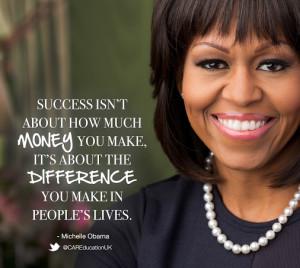 Michelle Obama Quotes Michelle obama quote
