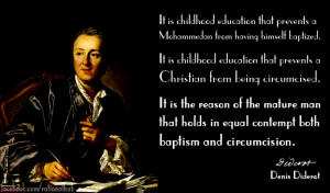 Denis Diderot on indoctrination.. by rationalhub