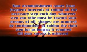 Accomplishment Quotes Funny ~ Quotes About Achievement (396 quotes)