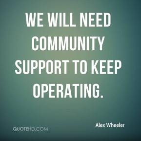 Quotes About Community Support