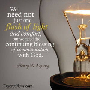 LDS General Conference. President Eyring #ldsconf #lds #quotes