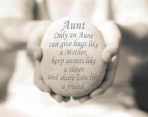 Her, Aunt Quote Print, Aunt Print, Inspirational Quote, Auntie Quote ...