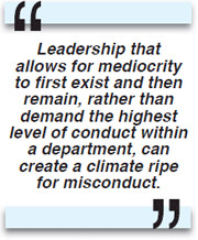 Quotes About Work Ethic And Integrity ~ leadership-quote