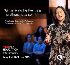 Angela Lee Duckworth talks about the importance of grit during TED ...