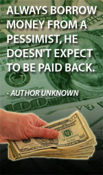 Borrow Money From Pessimist