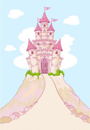 Home » Magic Fairy Tale Princess Castle - Fabric Wall Mural