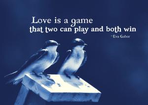 Blue Birds Quotes Photograph