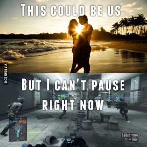 This could be us but I can't pause right now