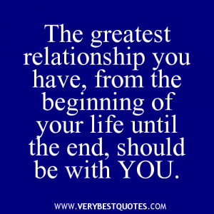 positive quotes about relationships ending