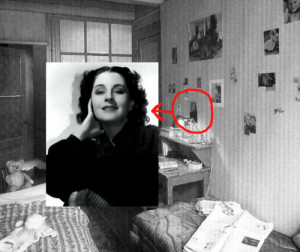 This is a picture of Anne Frank's room in The Secret Annex. Isn't ...