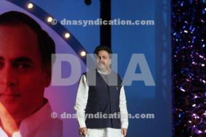 Rajiv Shukla at the Rajiv Gandhi Award for excellence ceremony at