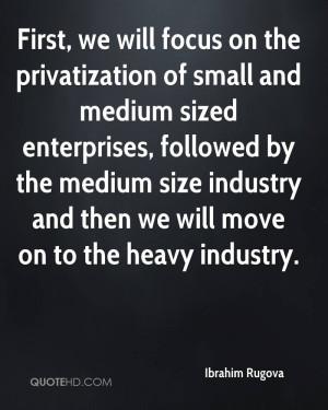 Ibrahim Rugova Quotes