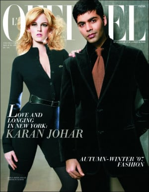 Karan Johar on L'Officiel must see