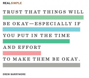 Trust that things will be okay. #quotes