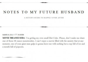 To My Future Husband Quotes Notes to my future husband