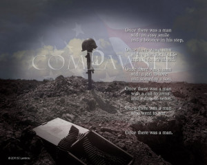 Soldiers Cross Memorial Dog
