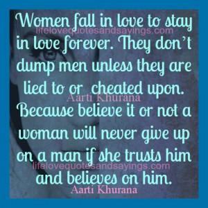 Women Don't Dump Men For Stupid Reasons.