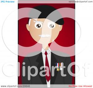 Clipart Happy Male Senior...