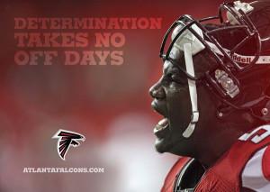 Determination takes no days off.