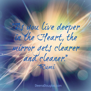 ... mirror gets clearer and cleaner.