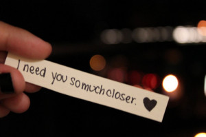cute, long distance, love, miss you, quote, sad, saying, sweet, sweet ...