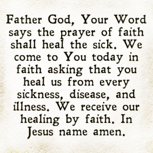 .com/iprayallday: Prayer For Healing, Healing Prayer Quotes, Quotes ...