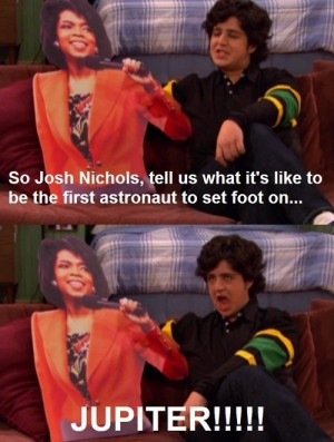 Drake and Josh : Josh with Oprah by 4xis-Powers