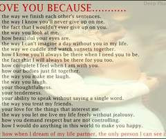 Love You Because Quotes | Love Quotes Today