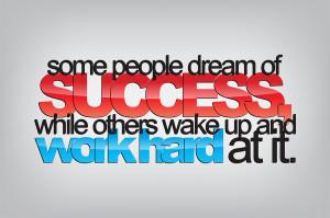 Monday Motivation – Success and Hard Work