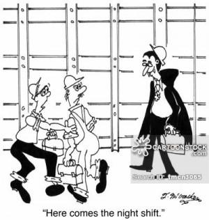 Night Shift cartoons, Night Shift cartoon, funny, Night Shift picture ...